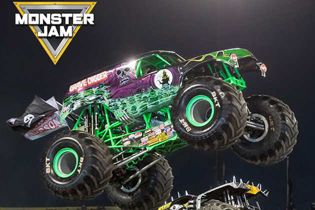 Monster Jam Returns To The Peoria Civic Center October 21 & 22nd!