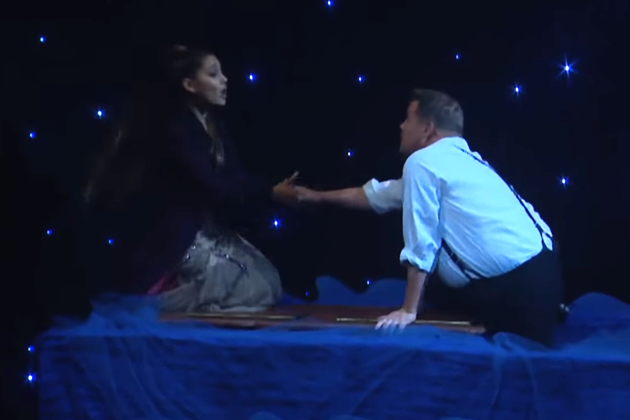 James Corden and Ariana Grande Turn Titanic into a Musical