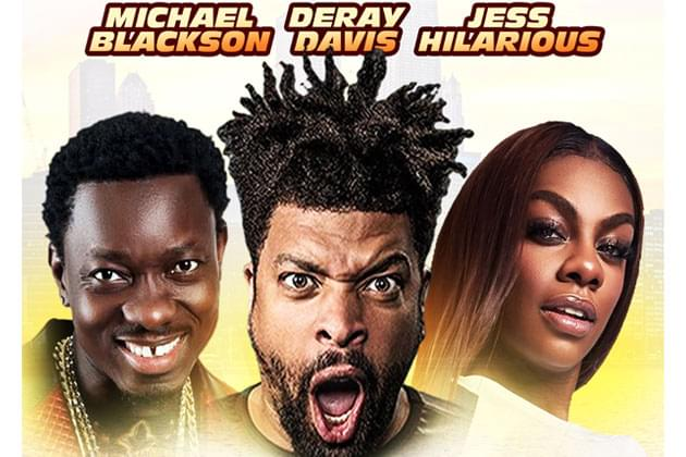 Deray Davis Funny and Famous Comedy Concert Adds Jess Hilarious To Peoria Show [DETAILS]