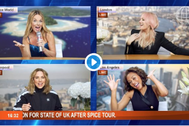 Spice Girls Announce Tour