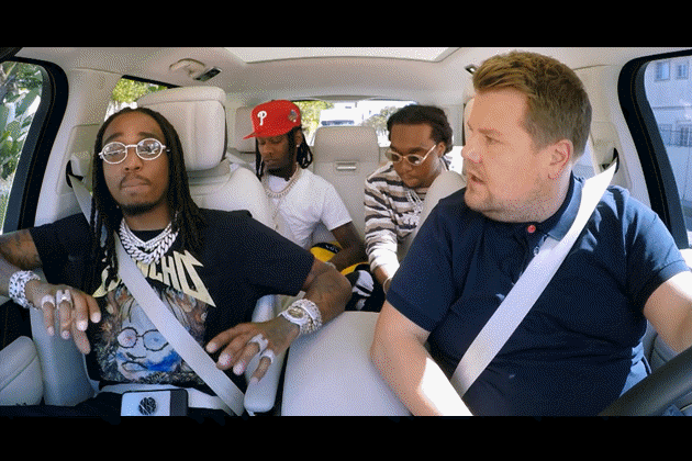 Carpool Karaoke with Migos!