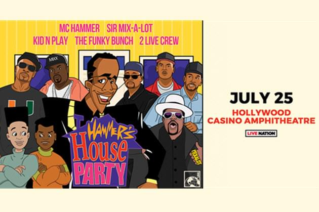 Win Tickets For Hammer's House Party This Week on The Morning Grind!