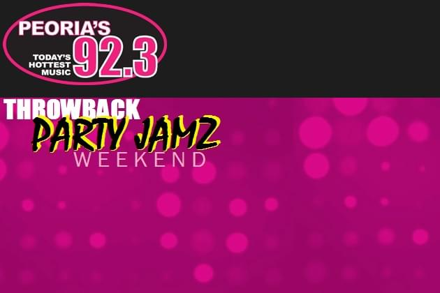 Throwback Party Jamz Weekend On Peoria's 92 3