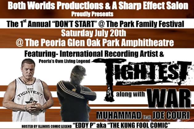 Don't Miss The 1st Annual Don't Start at the Park Super Summer Concert [DETAILS]