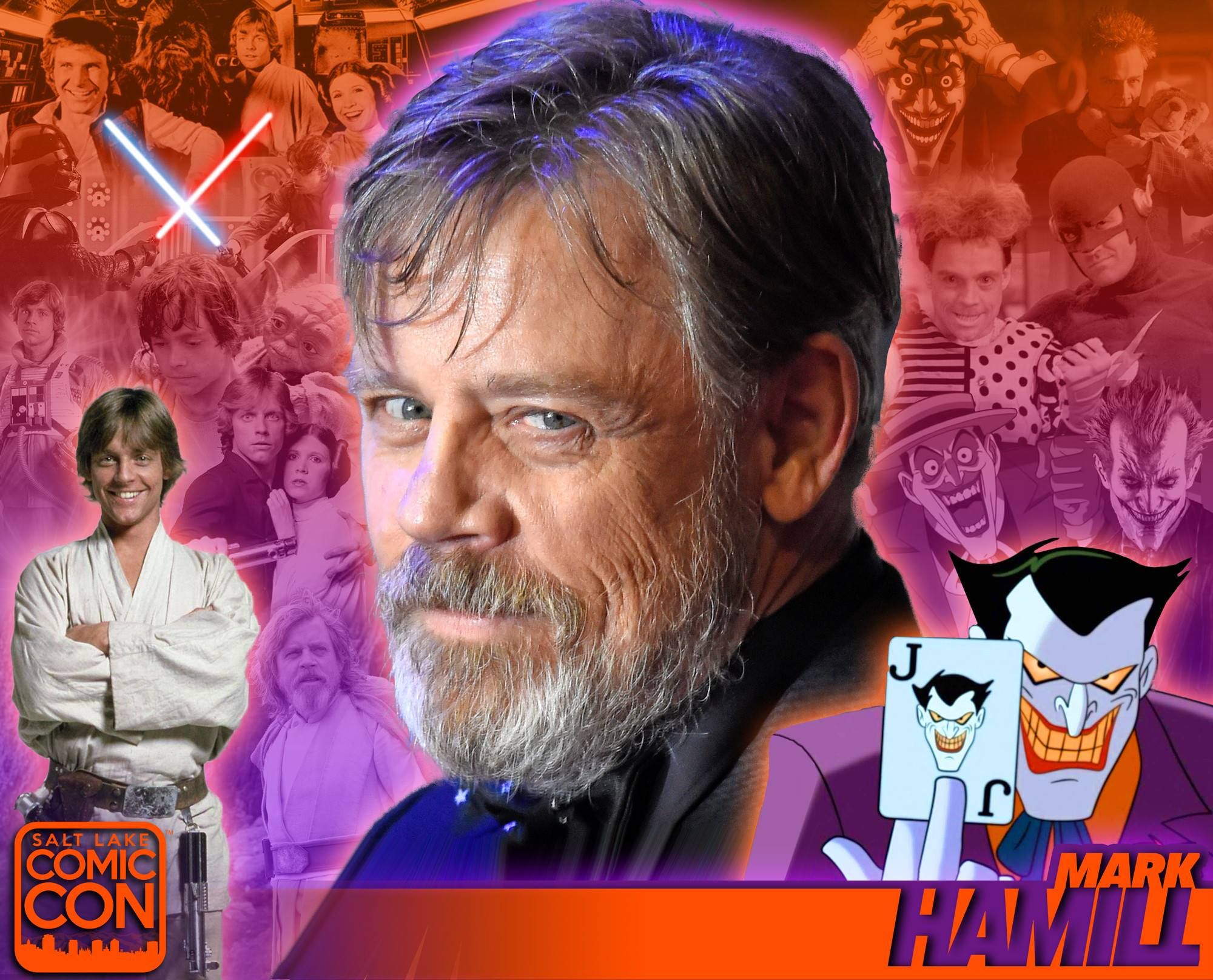 Mark Hamill is coming to Salt Lake Comic Con!