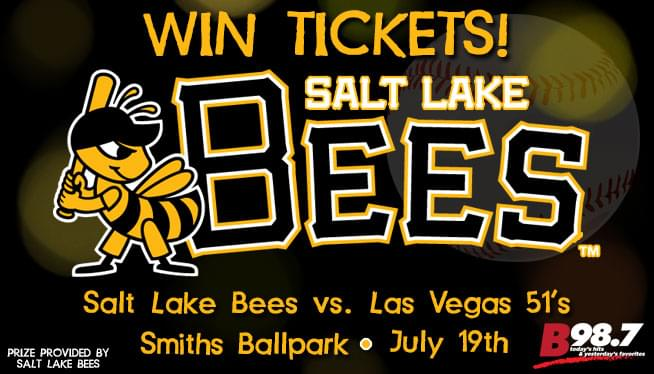 Win Tickets to the Salt Lake Bees vs. the Las Vegas 51's!