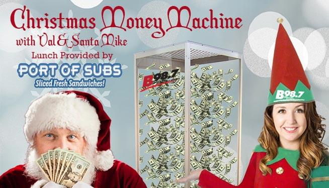 Christmas Money Machine