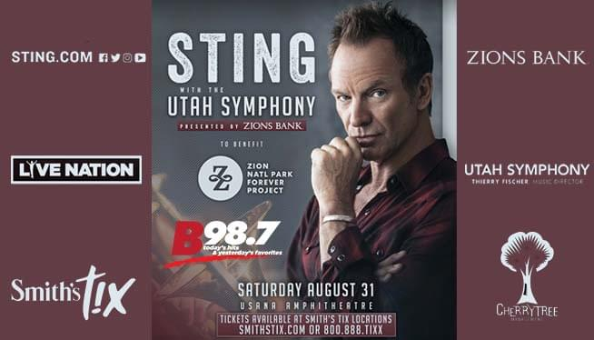 Sting with the Utah Symphony 2019