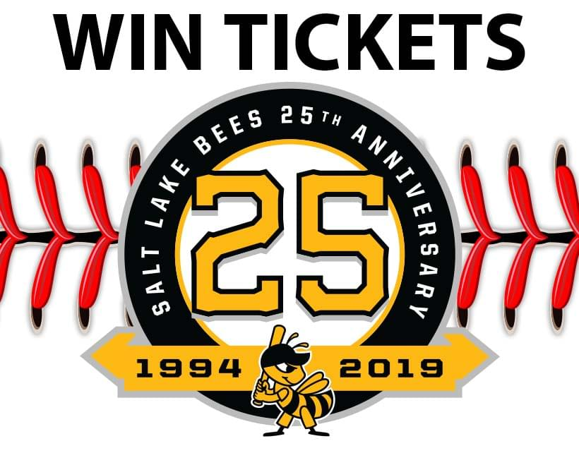 Win Tix to the Salt Lake Bees vs. Albuquerque Isotopes on Thursday April 25th at 6:35P at Smiths Ballpark From B987