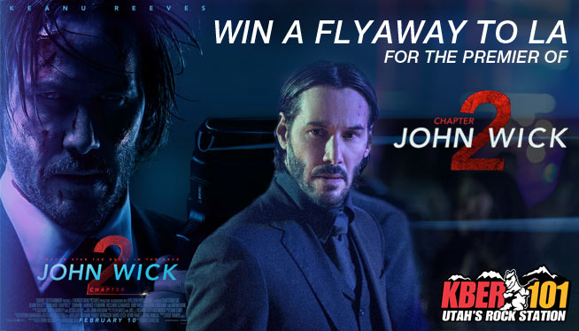 John Wick Chapter TWO LA Flyaway for the Premier