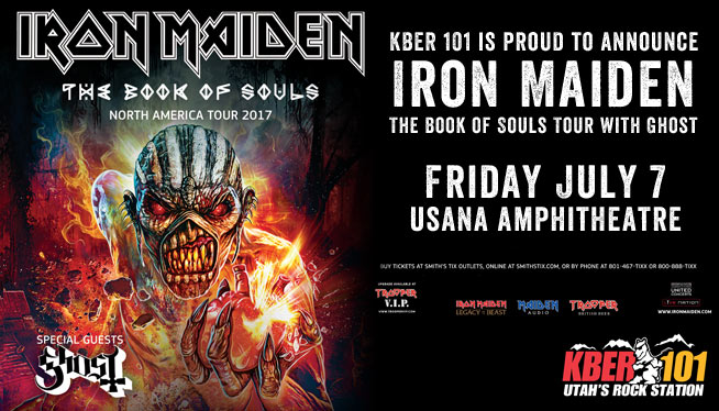 Iron Maiden The Book of Souls Tour with Ghost