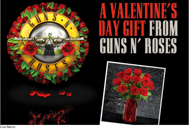 The Perfect Valentines Gift for Your Favorite Guns N' Roses Fan is Here!