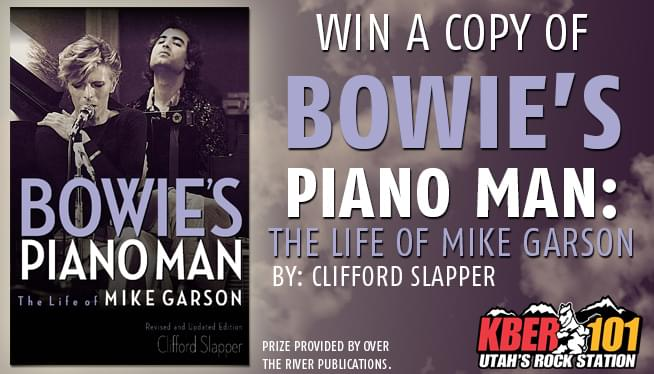 Win a Copy of Bowie's Piano Man: The Life of Mike Garson by Clifford Slapper!