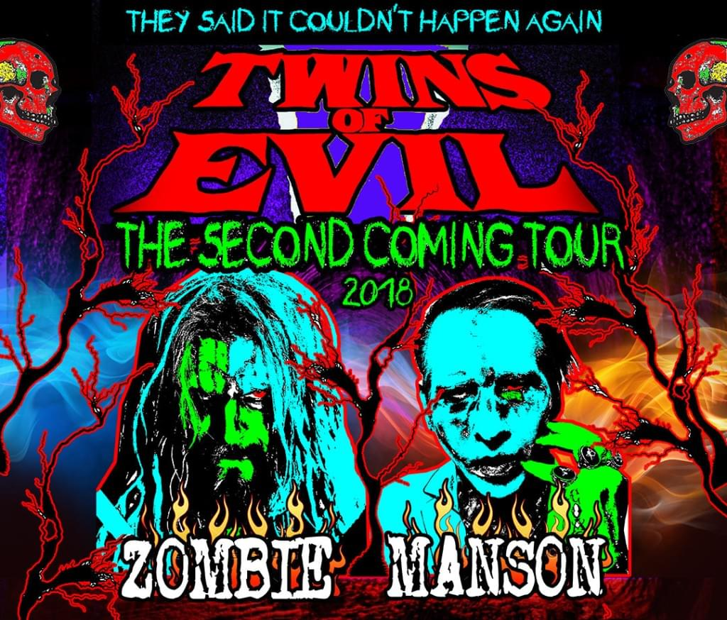 "Rob Zombie and Marilyn Manson take over USANA Amphitheatre in ""The Second Coming Tour"""
