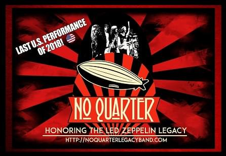 No Quarter is coming to SLC!