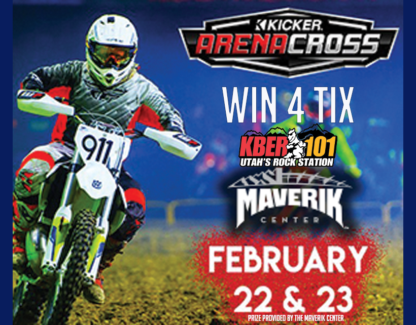 Win 4 Tix to Kicker Arena Cross at the Maverick Center February 22nd or 23rd