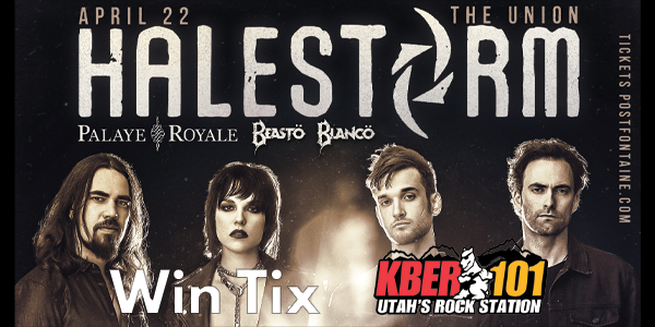 Win Tix to Halestorm on Monday April 22nd at the Union from KBER 101