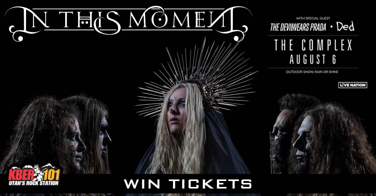Win Tix to In This Moment on August 6th at the Complex