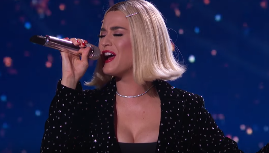 """Katy Perry Confirms She's """"Not Single"""" During American Idol Finale"""
