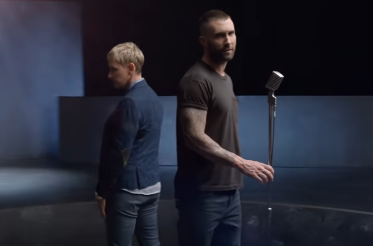 Adam Levine Rocks Out With Jennifer Lopez, Ellen DeGeneres and Daughter Dusty Rose in Maroon 5's New Music Video