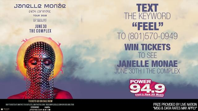 Win Tickets to Janelle Monae at the Complex on June 30th!