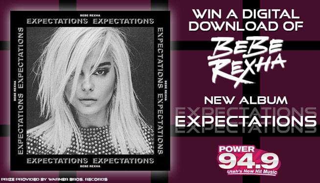 "Win a Digital Download of Bebe Rexha's New Album ""Expectations""!"