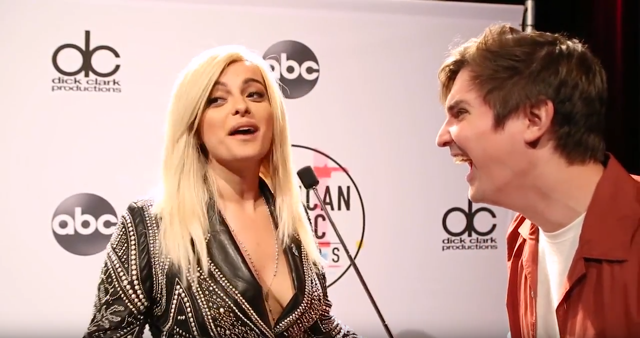 POWER 94.9's Zach Sang Interviews Bebe Rexha About 2018 AMA Nomination