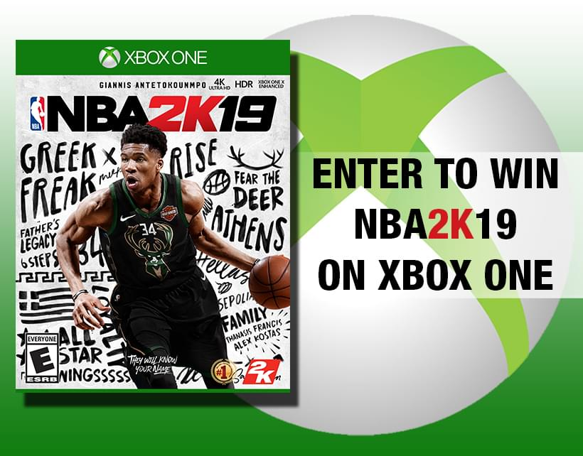Win a Copy of NBA 2K19 on Xbox One