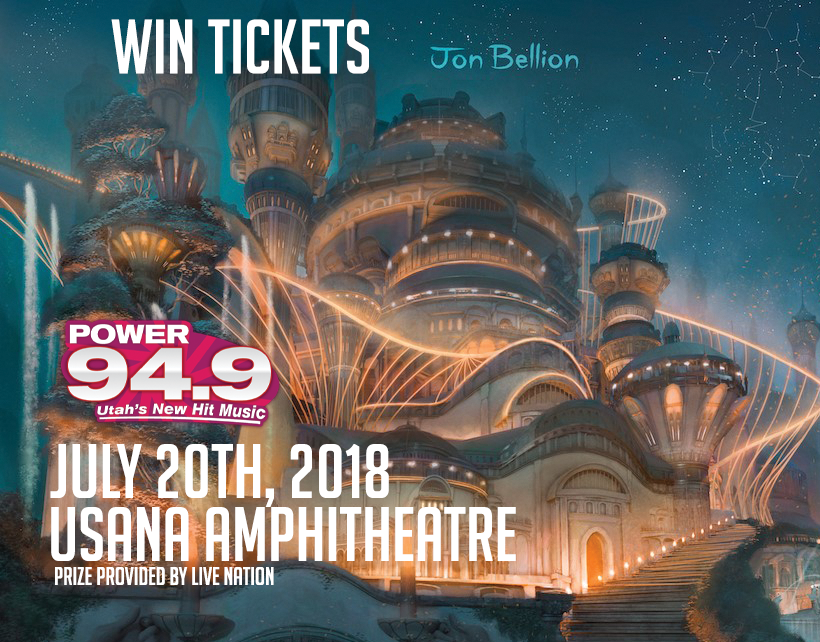 Win Tix to Jon Bellion on July 20th at USANA Amphitheatre From POWER 94.9