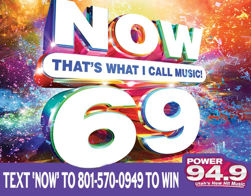 Win a Copy of Now That's What I Call Music- Volume 69