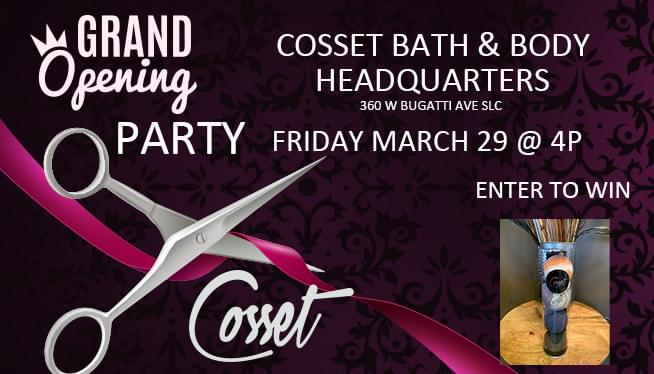 Cosset Bath and Body Grand Opening of their Headquarters