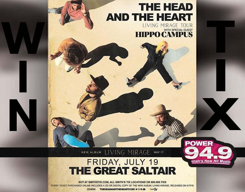 Win Tix to the Head and the Heart July 19 at the Great Saltair From POWER 94.9