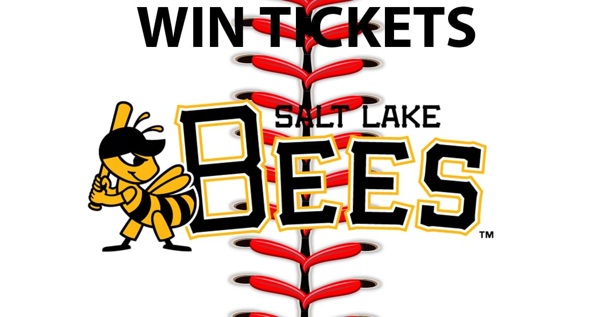 Win 4 Tix to the Salt Lake Bees vs Las Vegas Aviators on July 19, 2019 @ 07:05 pm at Smith's Ballpark