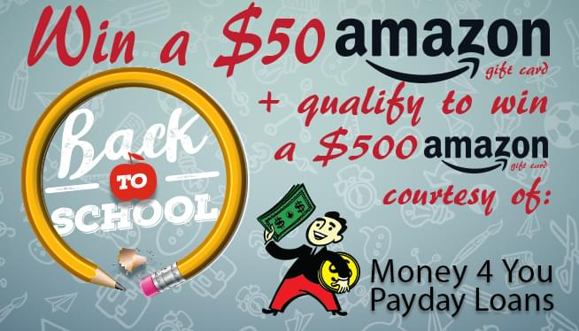 Money 4 You Back to School