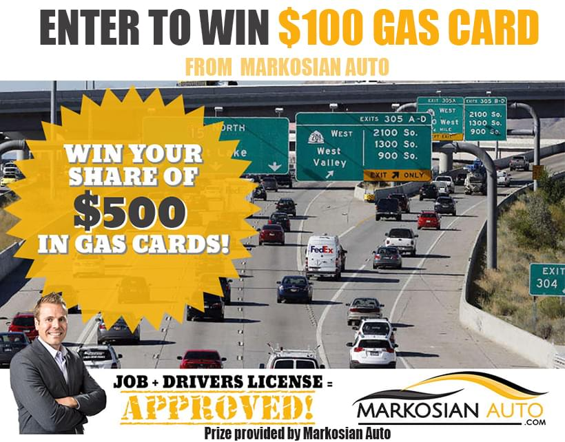 Win a $100 Gas Card from Markosian Auto