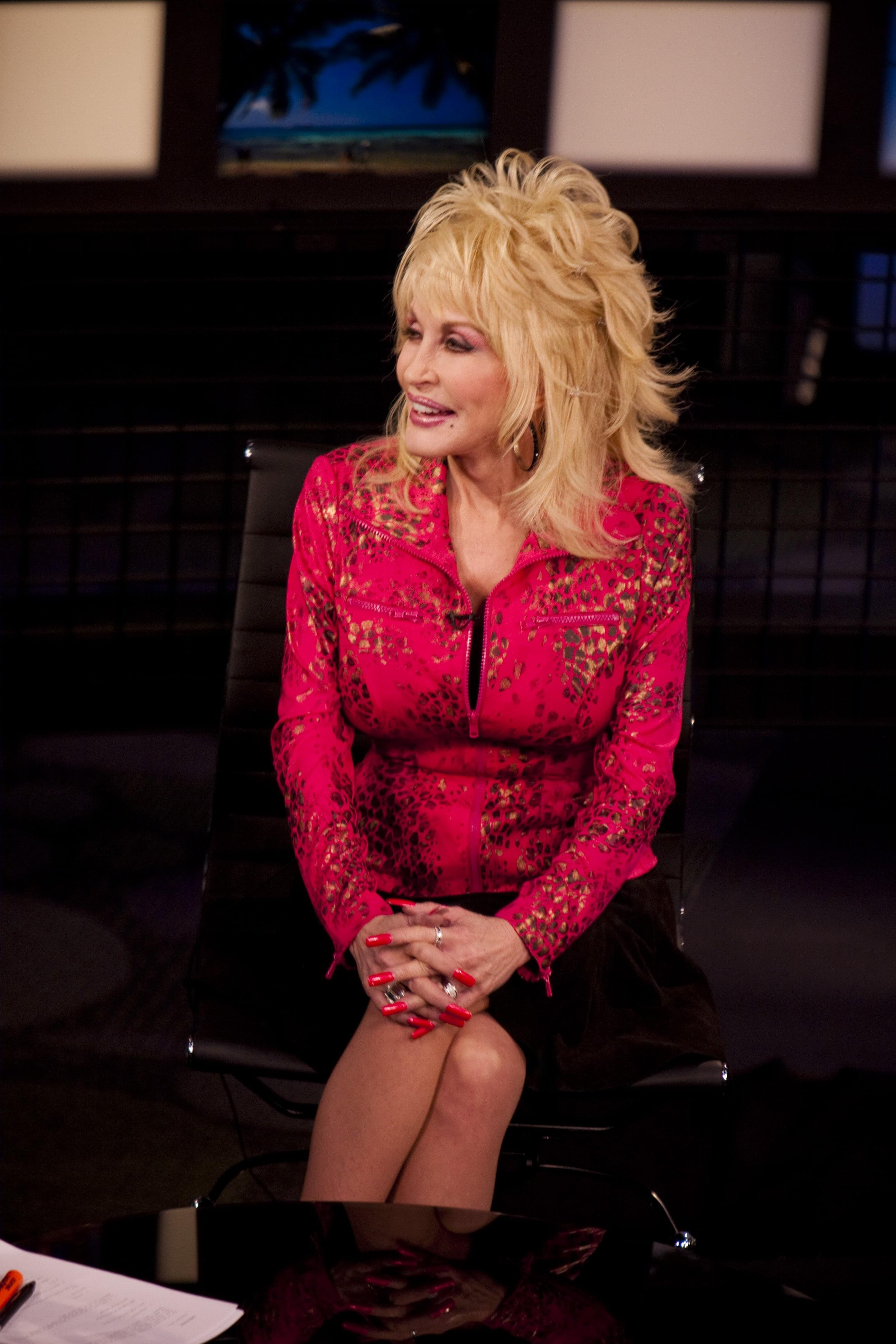 Dolly Parton Is Seen Here Speaking To CNN On March 6 2009 File Photo