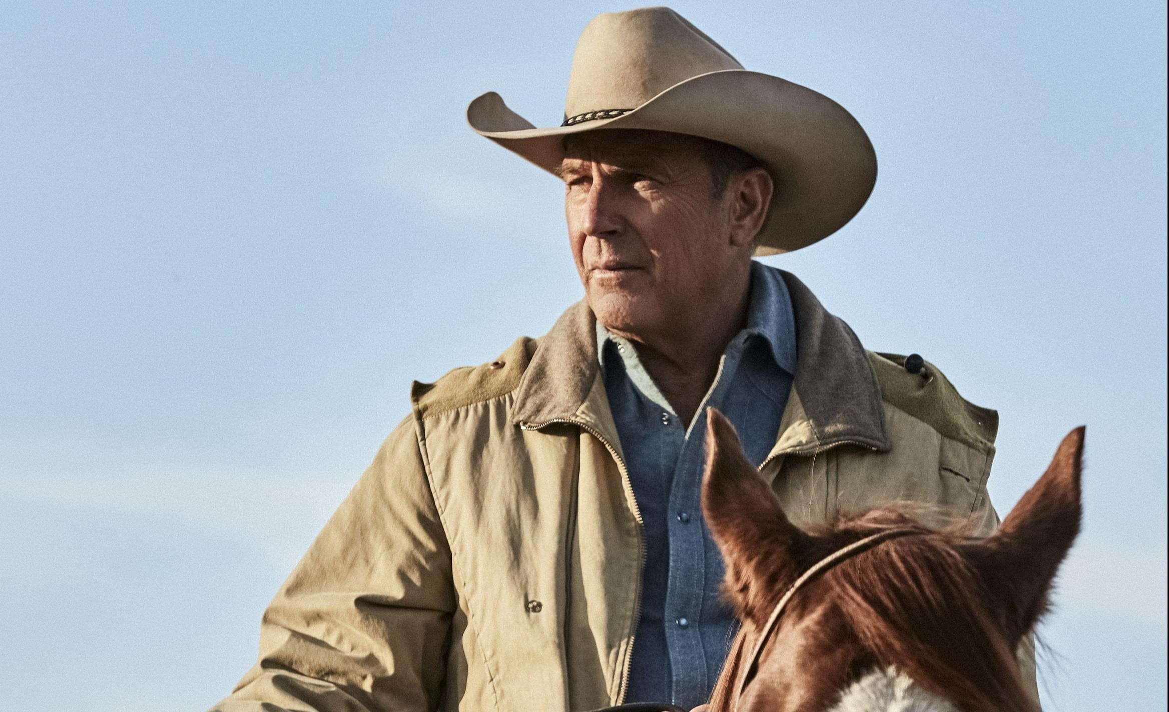 KEVIN COSTNER SADDLES UP FOR TV IN 'YELLOWSTONE'