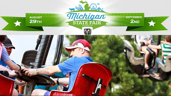 The Michigan State Fair – August 29 – September 2