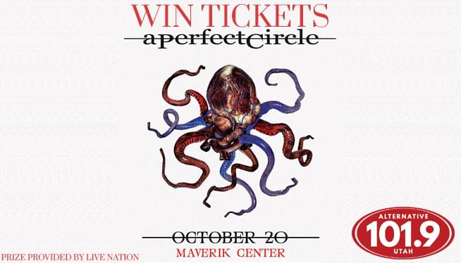 Win Tix to A Perfect Circle on October 20th at the Maverik Center from ALT 101.9!