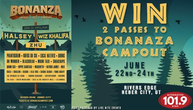 Win 2 Passes to Bonanza Campout June 22nd-24th!