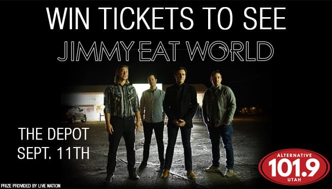 Win Tickets To See Jimmy Eat World on September 11th from ALT 101.9!