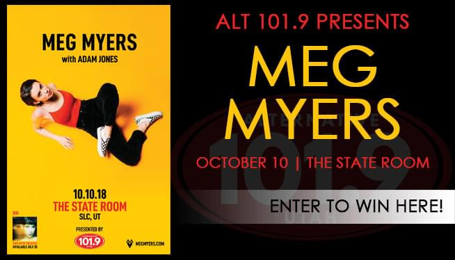 ALT 101.9 Presents Meg Myers at the State Room!!