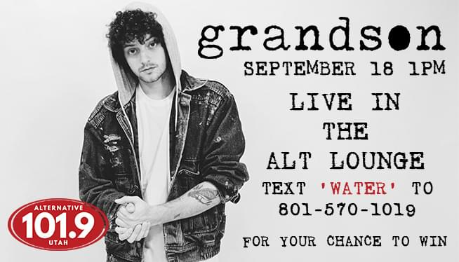 Win Your Way into the ALT 101.9 Lounge with Grandson at 1P on Tuesday September 18th