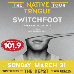 Win Tix to Switchfoot at the Depot on Sunday March 31st 2019 from ALT 101.9