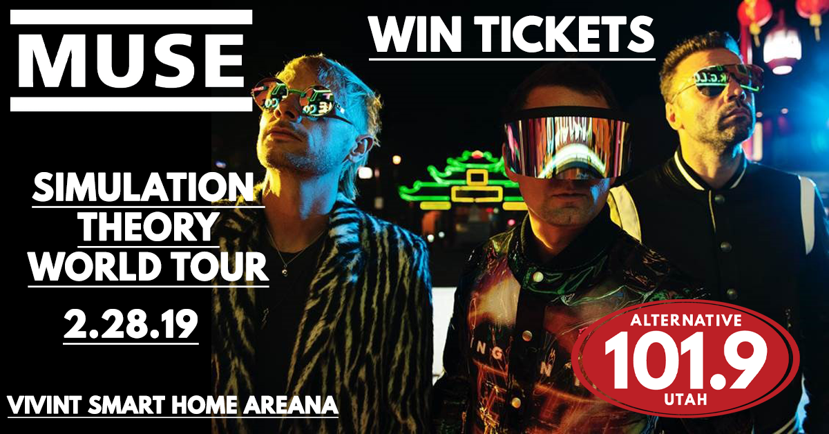 Win Tix to Muse Simulation World Tour on February 28th at Vivint Smart Home Arena