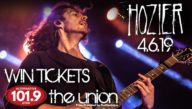 Win Tix to Hozier at the Union on April 6th from ALT 101.9