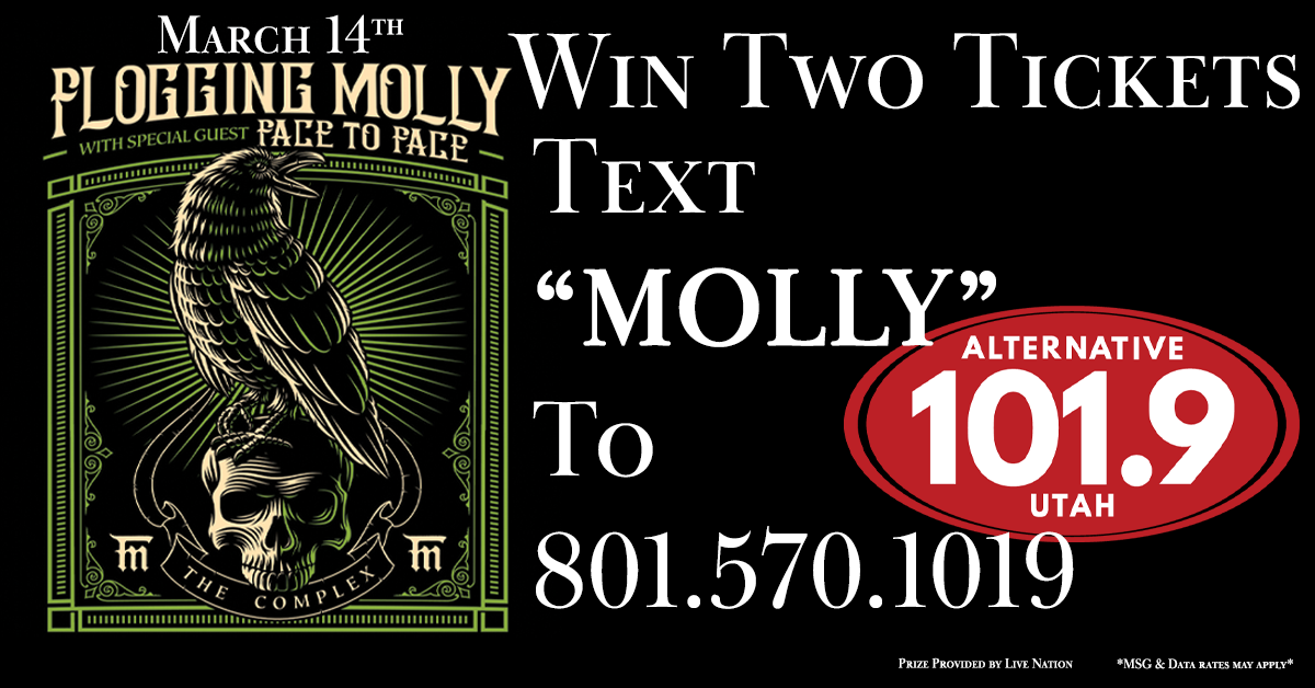 Win 2 Tix to Flogging Molly at the Complex on March 14th from ALT 101.9