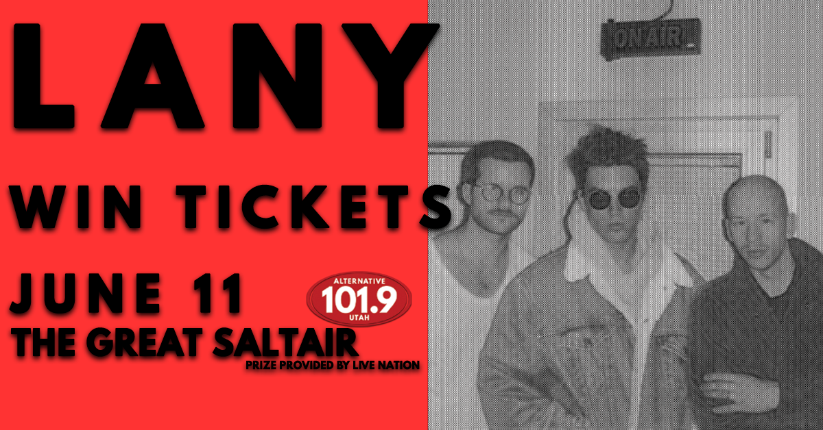 Win Tix to Lany June 11th at The Great Saltair From ALT 101.9