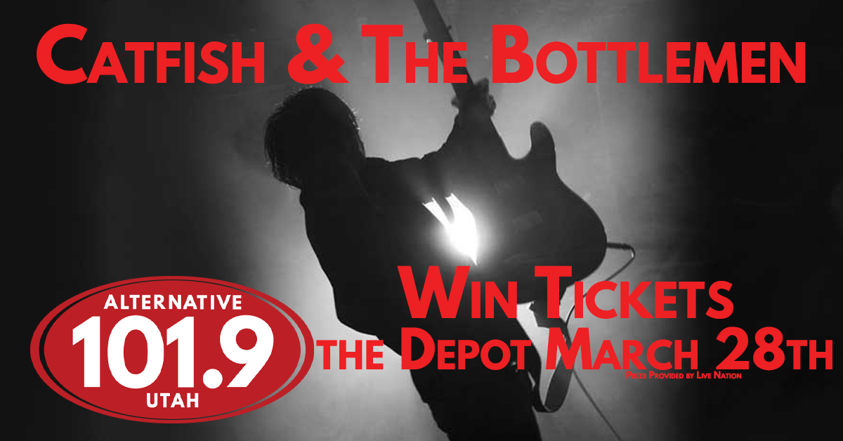 Win 2 Tix to Catfish & The Bottlemen at the Depot on March 28th from ALT 101.9