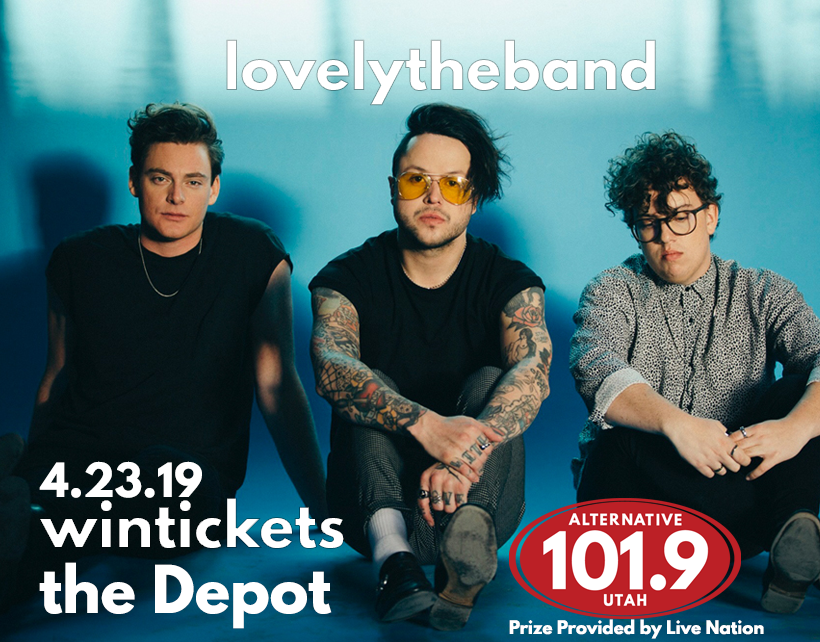 Win Tix to lovelytheband on April 23rd at the Depot From ALT 101.9
